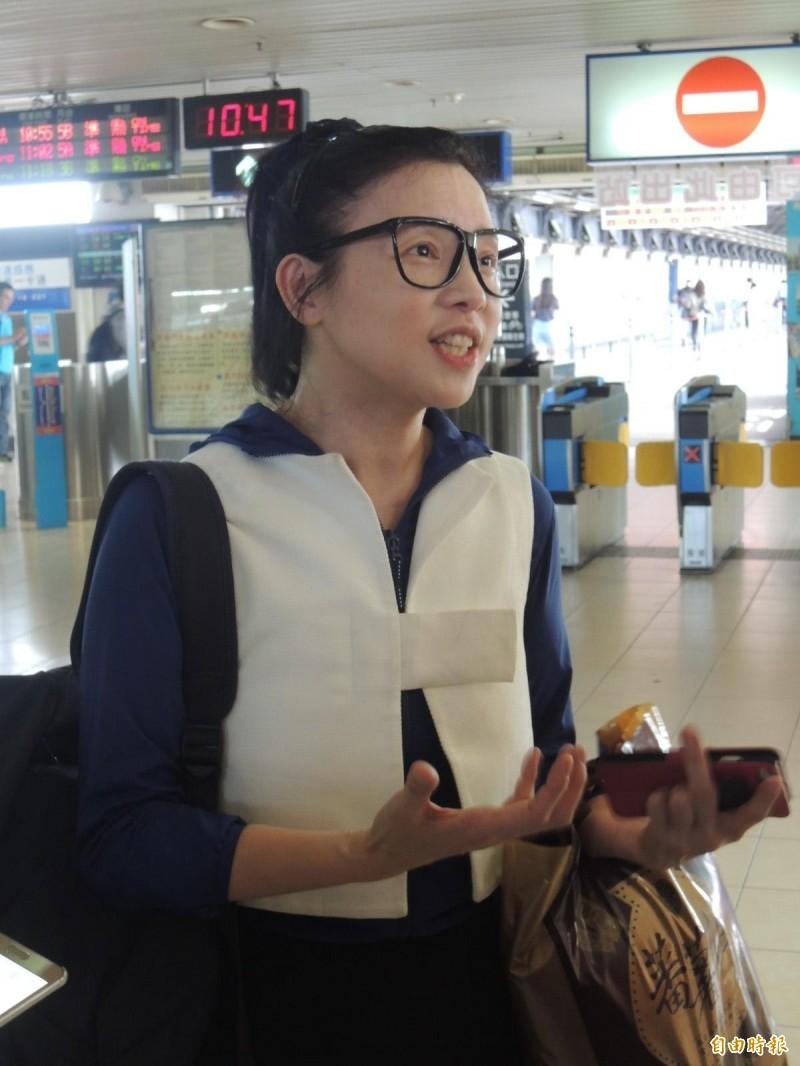 璩美鳳對於韓國瑜聲明提出個人觀點。(資料照、記者王榮祥攝)