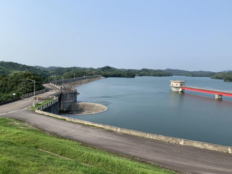 寶二水庫重回滿水位,北水局:新竹地區水情穩定。(圖由北水局提供)