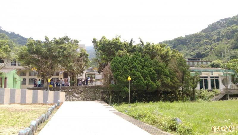 暖暖童軍活動中心近日完成修繕工程。(記者林欣漢攝)