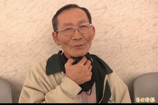 陳永福曾罹5癌險喪命。(記者顏宏駿攝)