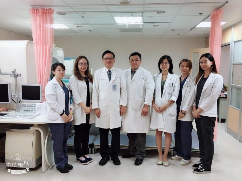 中山附醫成立海扶刀中心,治療超過5百名患者。(記者蔡淑媛翻攝)