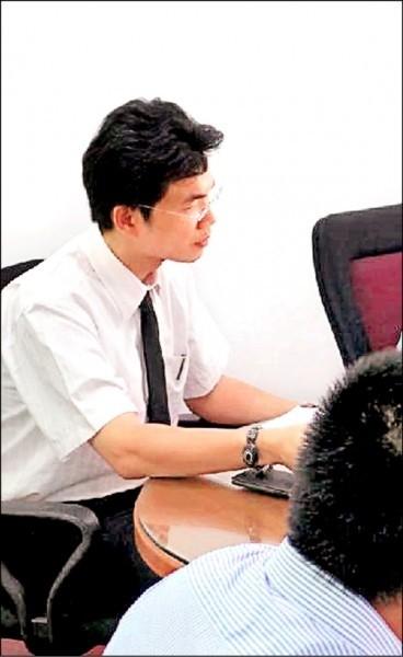 花蓮地檢察署檢察官林俊佑不滿女兒在幼兒園疑似遭人欺負,竟找刑警衝到學校。(記者王錦義翻攝)