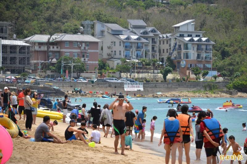 今年前兩個月屏東縣觀光飯店的平均房價與住房率明顯成長。(記者侯承旭攝)