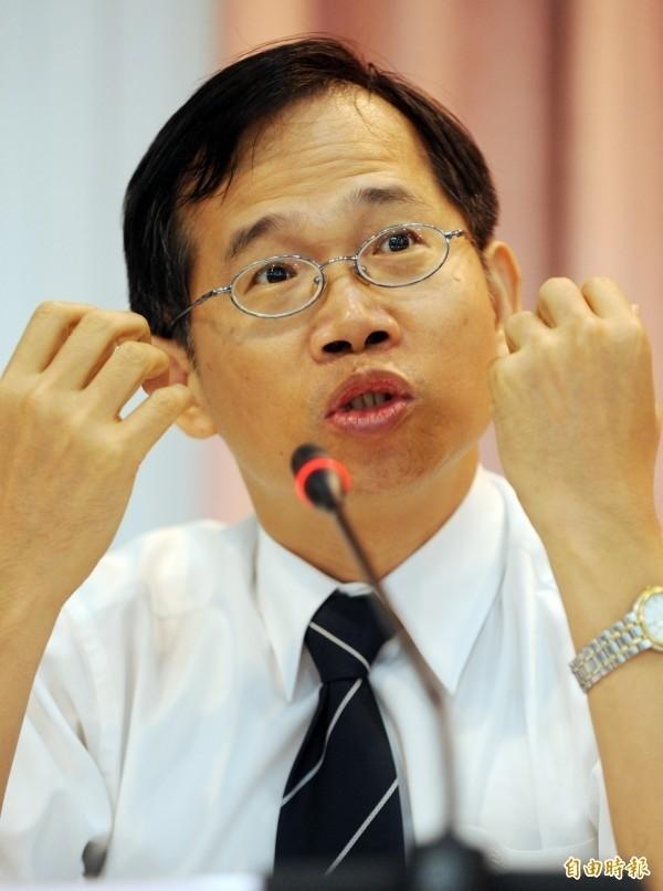 最高行政法院法官吳東都。(資料照,記者羅沛德攝)