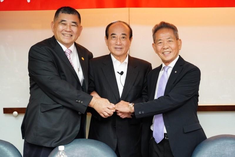 前立法院長王金平受邀參加工業協進會理監事會議。(王金平辦公室提供)