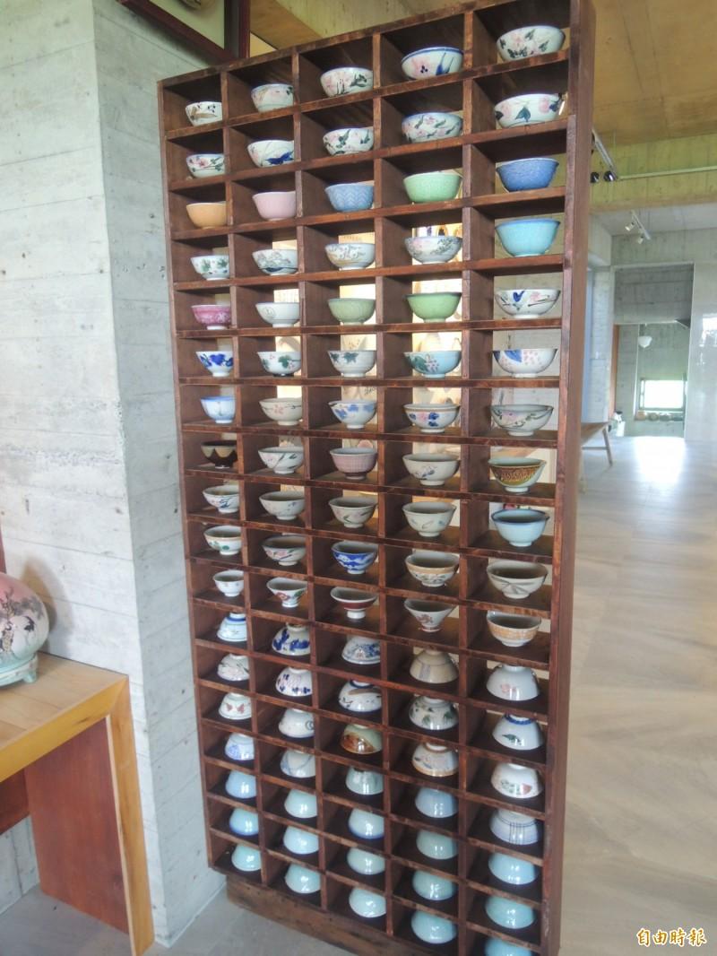 館內收藏品多元豐富。(記者江志雄攝)
