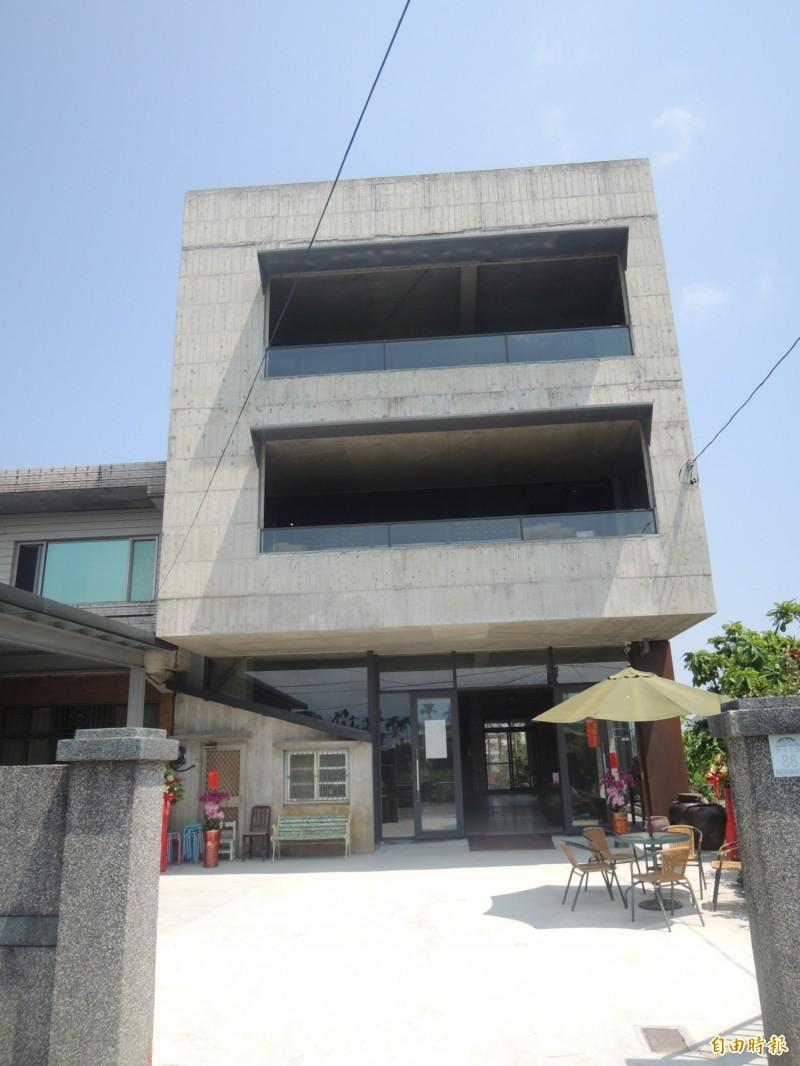 台灣碗盤博物館在宜蘭縣五結鄉另建新館。(記者江志雄攝)