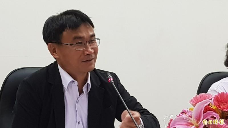 農委會主委陳吉仲。(記者簡惠茹攝)