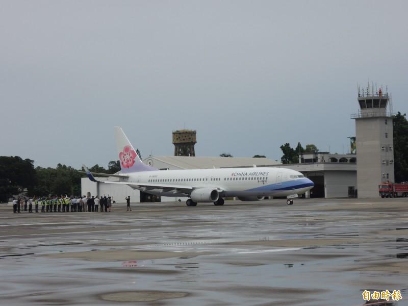 台南機場仙台航線卡關,目前傳出山形有高度意願。(記者蔡文居攝)