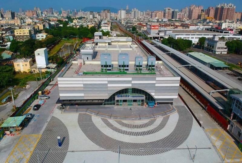 鳳山火車站開發大樓將於九月動工。(記者陳文嬋翻攝)