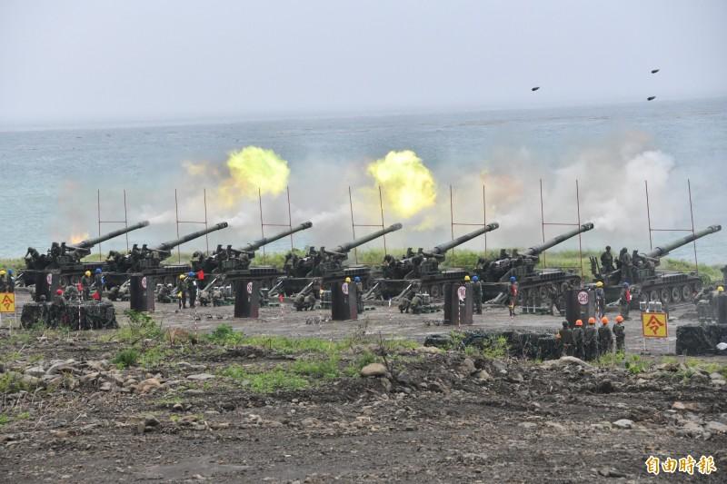 軍方今起每週四在枋山進行演訓任務。(資料照,記者蔡宗憲攝)