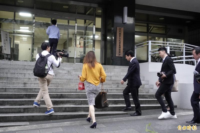 前行政院長賴清德10日傍晚拜會日本內閣府地方創生推進事務局。(記者林翠儀攝)