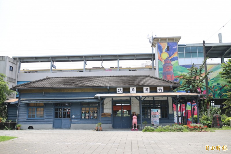 竹田鄉公所收回管理權,預計從這個月15日閉園整修,6月重新開園。(記者邱芷柔攝)