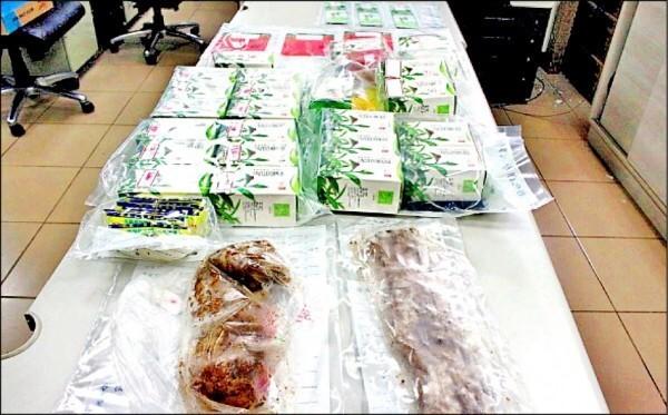 芬園鄉溪頭村長莊定山致贈鹹豬肉遭查獲。(資料照,記者陳冠備翻攝)