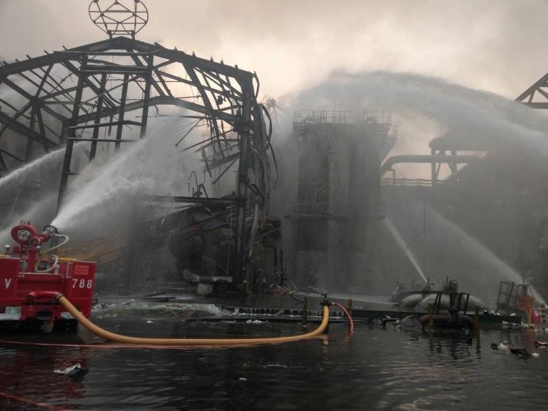台塑六輕廠上月7日發生氣爆。(資料照)