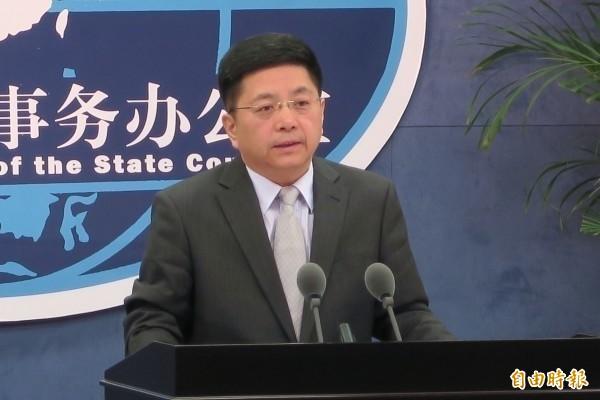 中國國台辦發言人馬曉光。(資料照,中央社)