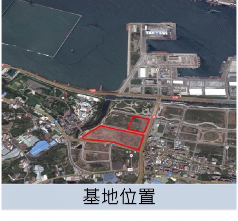 新北市政府將把八里的「台北港娛樂專用區」變更為產業專用區,解決台商回流的土地問題。(取自經發局官網)