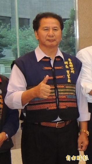 國民黨籍來義鄉長竇望義被屏東地方法院民事庭判決當選無效。(記者李立法攝)