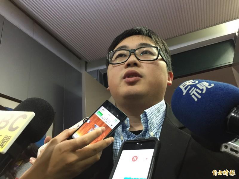 台北市政府發言人劉奕霆。(資料照,記者沈佩瑤攝)