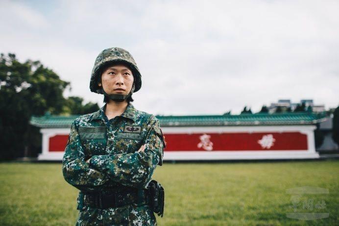 特戰連首名女連長許睿涵上尉。(軍聞社)
