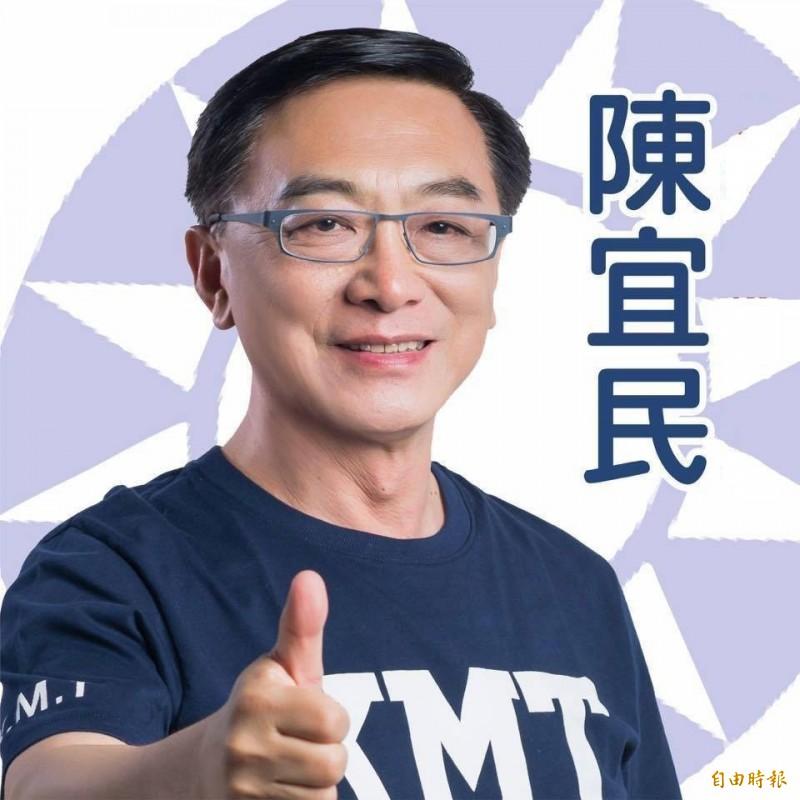 國民黨高市立委初選,陳宜民中箭落馬。(記者葛祐豪攝)