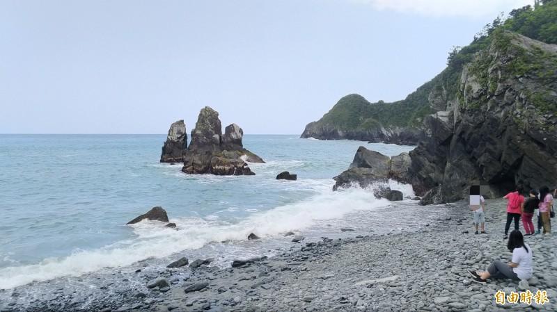 粉鳥林秘境被譽為台版下龍灣。(資料照,記者江志雄攝)