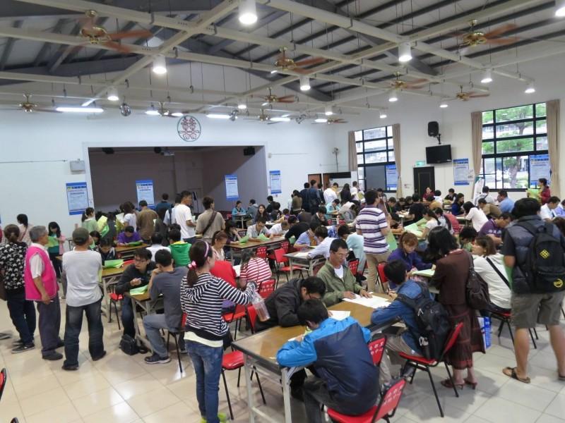 勞動部台南就業中心在本週安排三場廠商聯合徵才活動。(資料照,記者王俊忠翻攝)