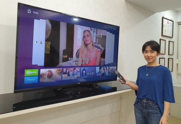 個人化時代來了!OVO首推AI電視盒 自己的電視自己管