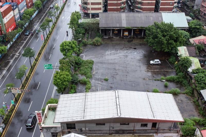 市府計畫在舊公車修理場興建新市政大樓。(基隆市政府提供)