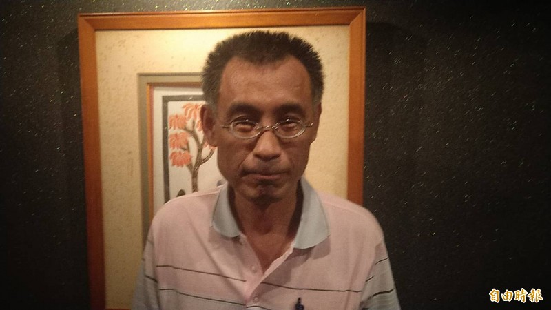 韓國瑜被爆料懷疑曾在離婚女子家過夜?被點名知情的親信輪船公司董事長黃文財否認,強調沒聽說2人有曖昧。(記者黃良傑攝)