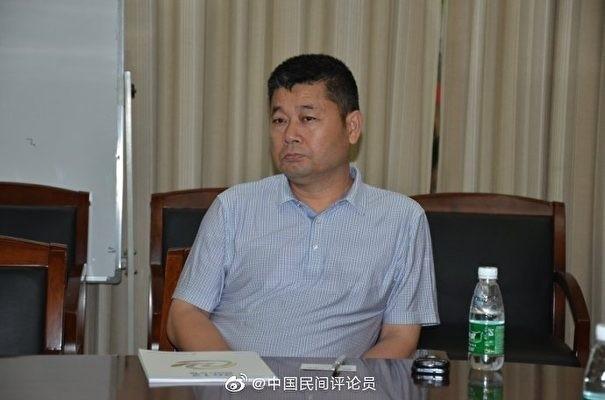 遭曝光的新華社四川分社片區主任常筠玲照片。(網路圖片)
