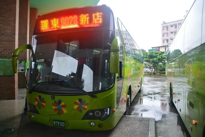 大都會暨北客運提供端午連假期間,往返新店到宜蘭縣路線的搭乘優惠。(大都會暨台北客運提供)