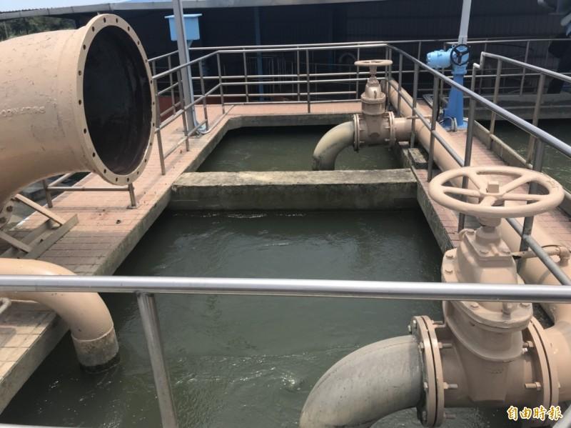 「新竹市民喝好水三部曲」啟動第三部曲踏出最關鍵一步,工程將於2021年中完成驗收並通水,屆時新竹地區可望全部飲用水庫水。(記者蔡彰盛攝)