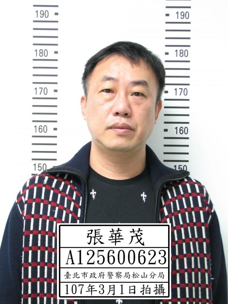 張華茂涉性侵高職女學生,卻在入監前棄保潛逃,刑事局公布照片緊急查緝。(記者姚岳宏翻攝)