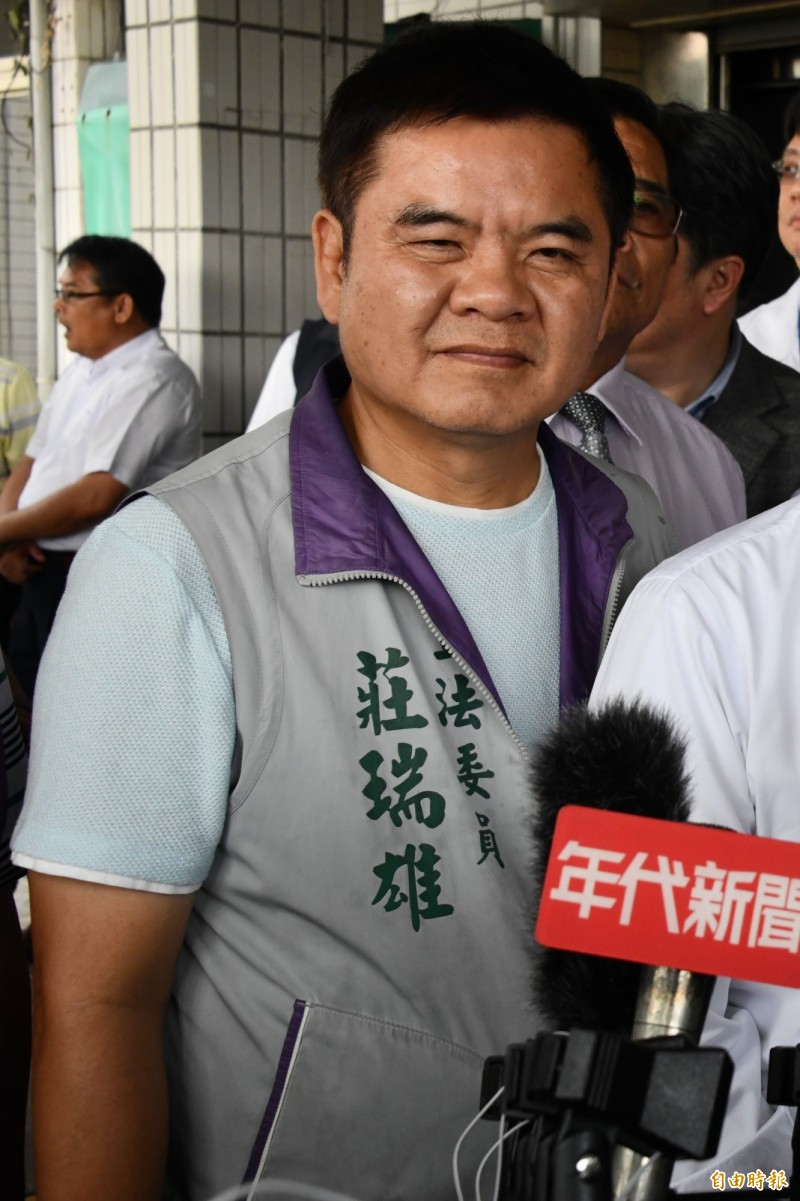 屏南現任立委莊瑞雄盼潘恒旭先擊敗黨內初選對手。(資料照)