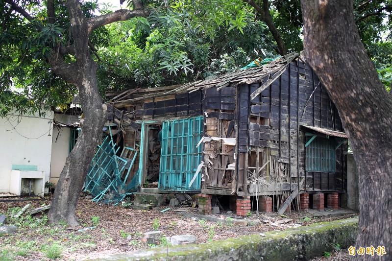 「潮州郡守官邸」修復保留見曙光。(記者邱芷柔攝)