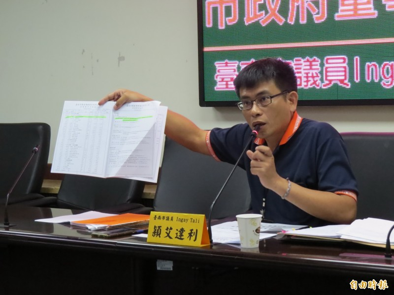 Ingay Tali(穎艾達利)為少數在臉書聲援的議員,他表示,香港「反送中」抗議行動,看了讓人心痛。(資料照,記者蔡文居攝)