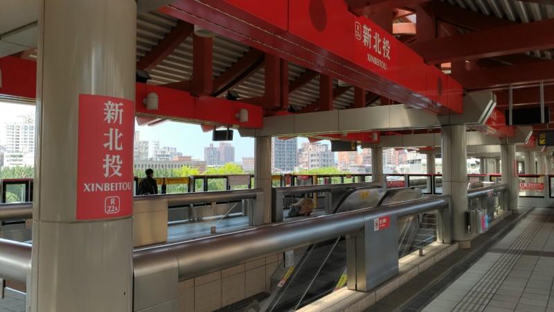 北捷公司宣布,將於20日試辦「新北投站-大安站」直通車。(北捷公司提供)