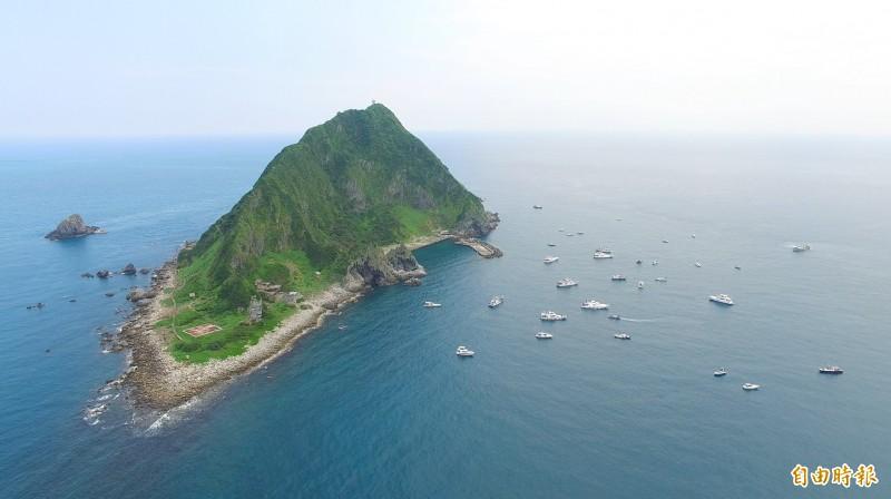 基隆嶼將於25日開放登島。 (基隆市政府提供)