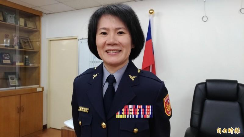 現任雲林縣西螺警分局長陳立祺即將接任宜蘭縣警察局羅東分局長。(記者廖淑玲攝)