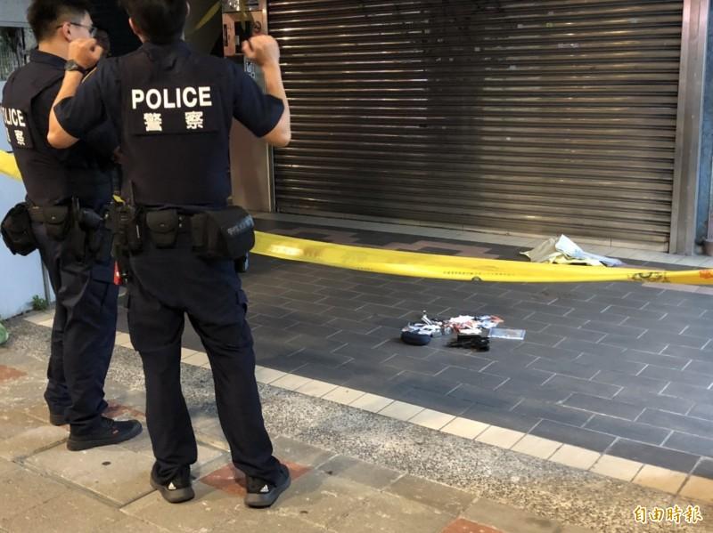警方查獲黃嫌的槍枝。(記者王冠仁攝)