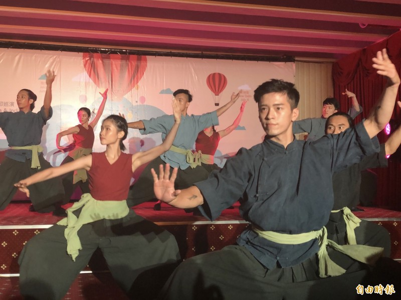 福爾摩沙馬戲團將展現台灣多元文化。(記者呂伊萱攝)