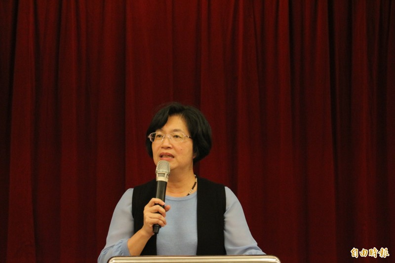 彰化縣長王惠美表示她不會參加韓國瑜22日台中造勢活動。(記者張聰秋攝)