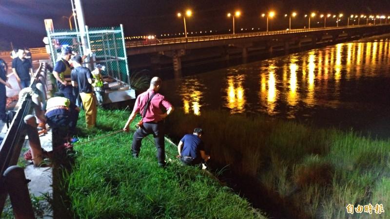 高中生與家人吵架跳花蓮大橋 卡河床爛泥獲救