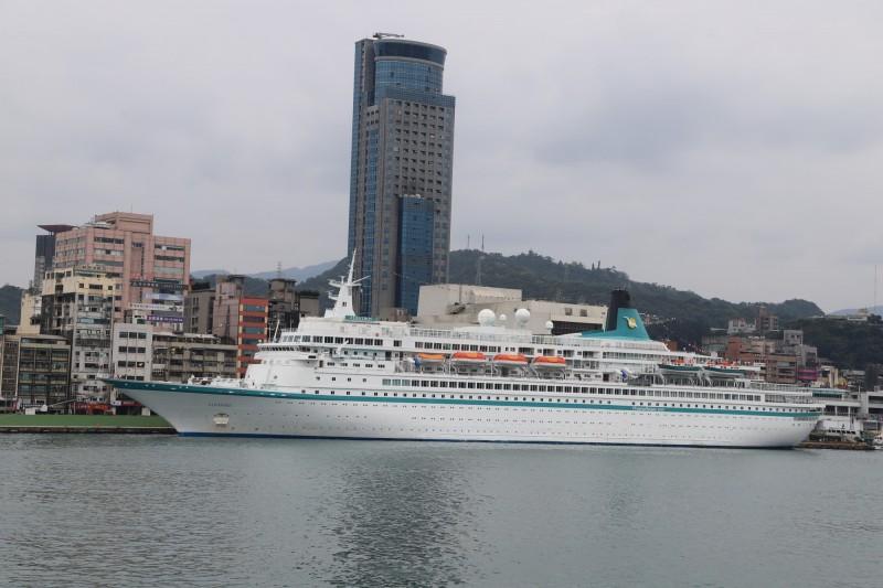 基隆等四縣市政府合辦的郵輪跳島遊程規劃,將由高雄、基隆伴演雙母港引擎的角色。(基隆港務分公司提供)