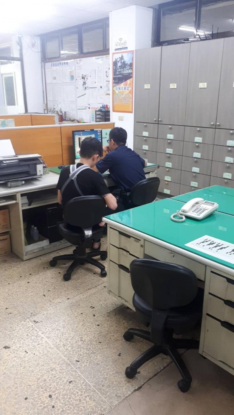 新竹市和新竹縣,桃園市及彰化縣四縣市警察局聯手合作,讓被抱走的小女嬰順利被找到及安置。(照片由新竹市府提供)