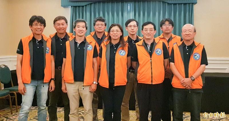 福衛七號台灣團隊(記者簡惠茹攝)