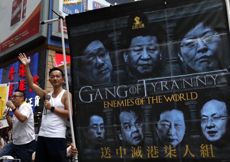 香港近日的「反送中」運動,讓中國司法制度的弊病受到各國關注。(美聯社)