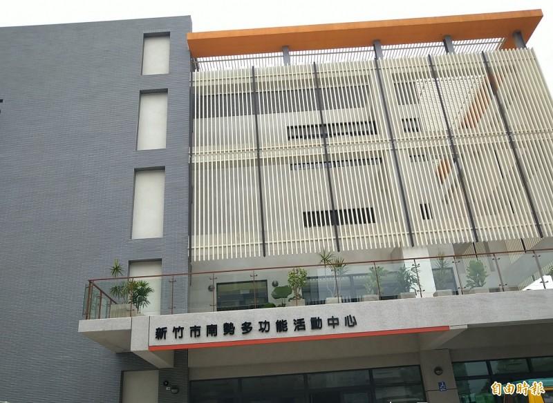 新竹市全新蓋建的北區南勢社會福利館3樓的社區公共托育家園,是新竹市第一個公托中心。(記者洪美秀攝)