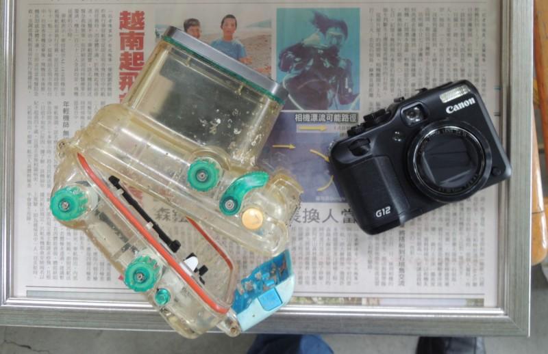 椿原遺失的相機被岳明國小學生拾獲。(資料照,記者江志雄攝)
